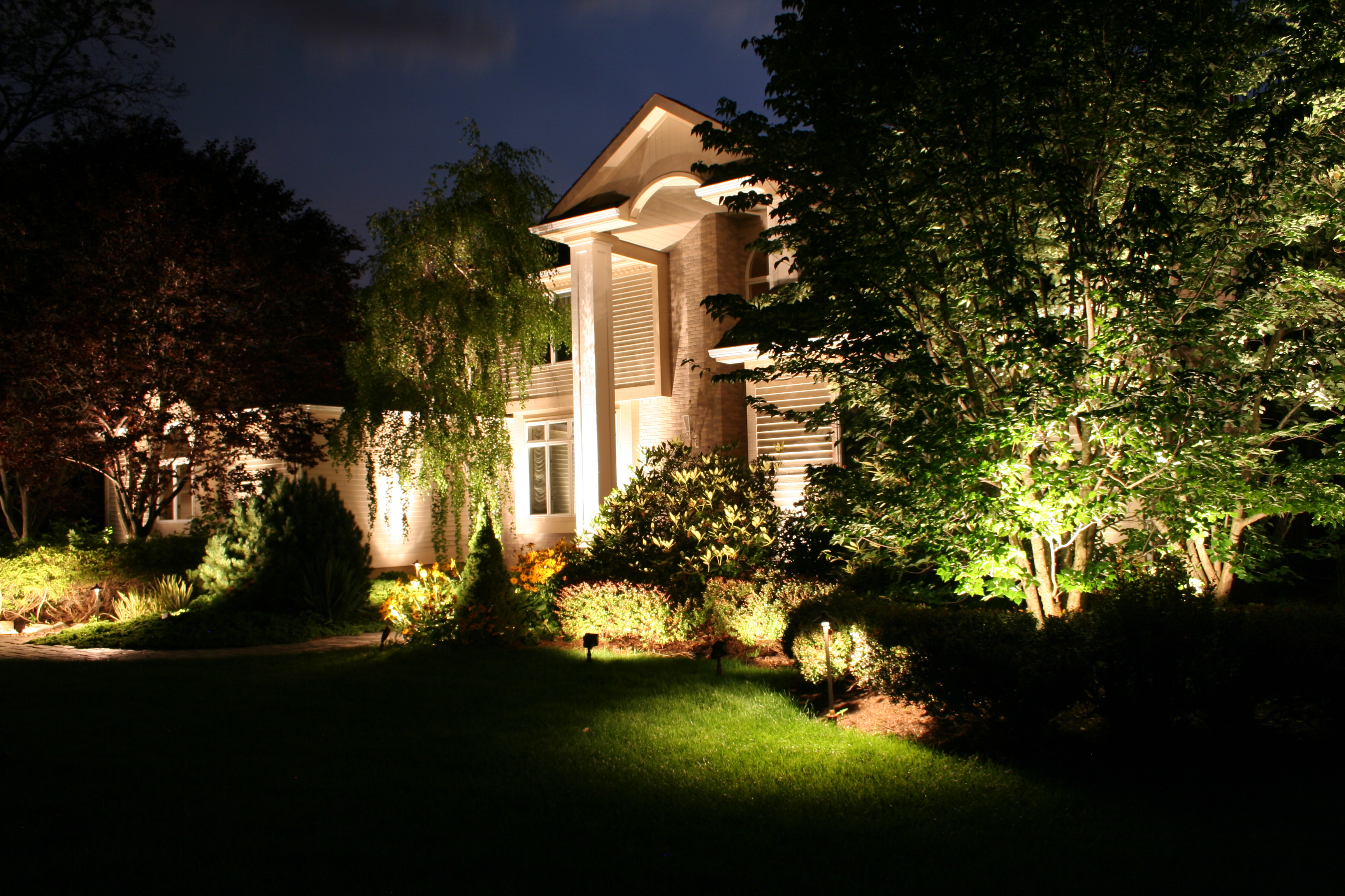 landscape outdoor lighting photo - 6