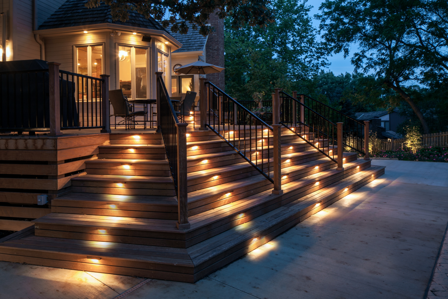 landscape outdoor lighting photo - 7