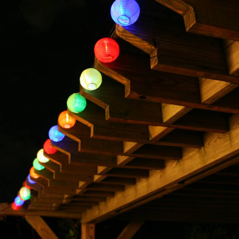 lantern outdoor lights photo - 1