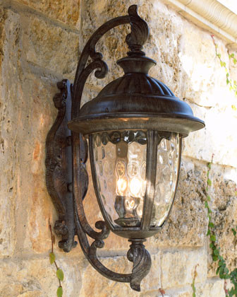 lantern outdoor lights photo - 7
