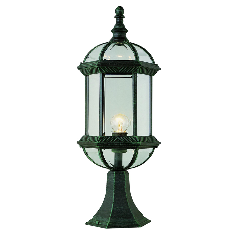 install lantern post light outdoor for a classy look