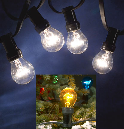 large christmas outdoor lights photo - 2