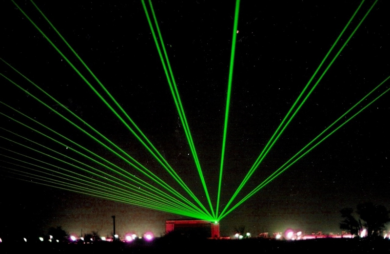 laser lights outdoor photo - 9