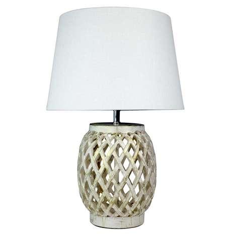 lattice lamp photo - 1