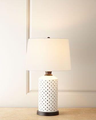 lattice lamp photo - 3