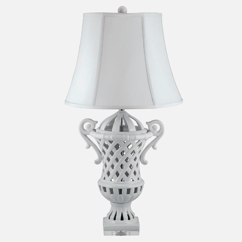 lattice lamp photo - 5