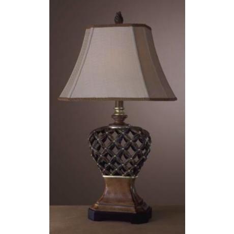 lattice lamp photo - 6