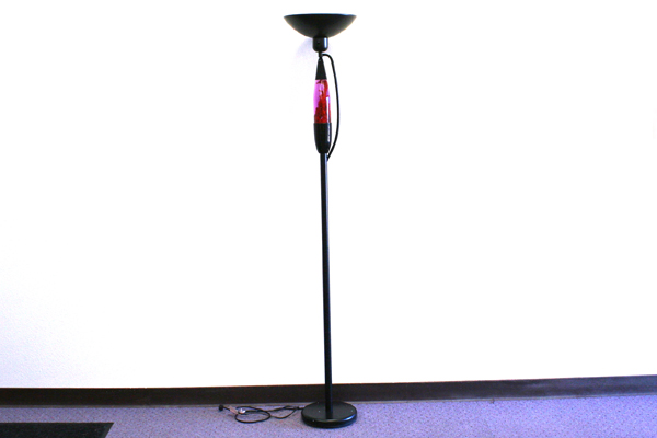 lava lamp floor lamp photo - 1