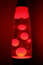 Lava Lamp Red Warisan Lighting