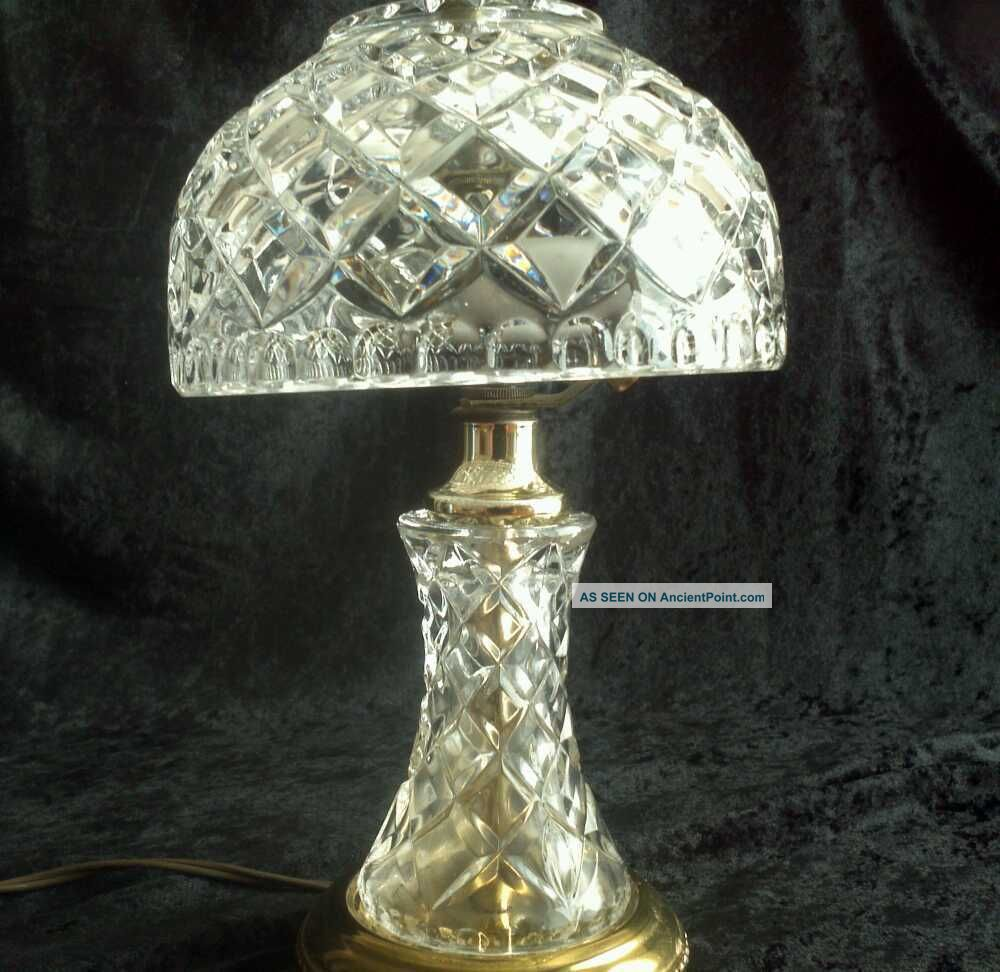 lead crystal lamps photo - 1