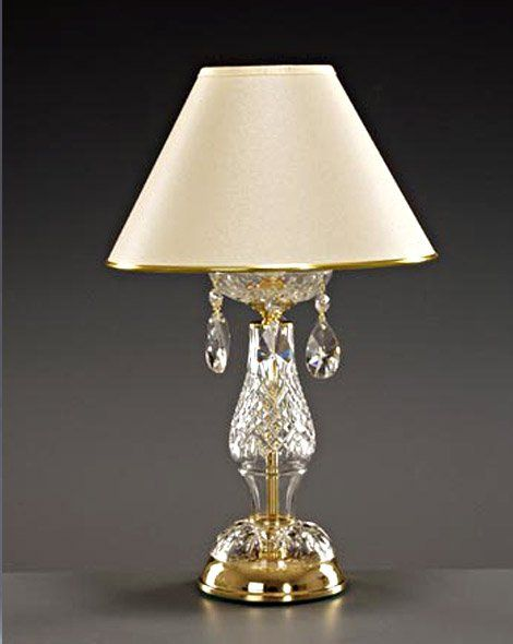 lead crystal lamps photo - 2