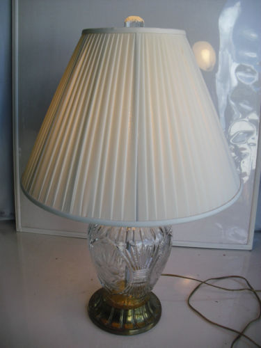 lead crystal lamps photo - 3