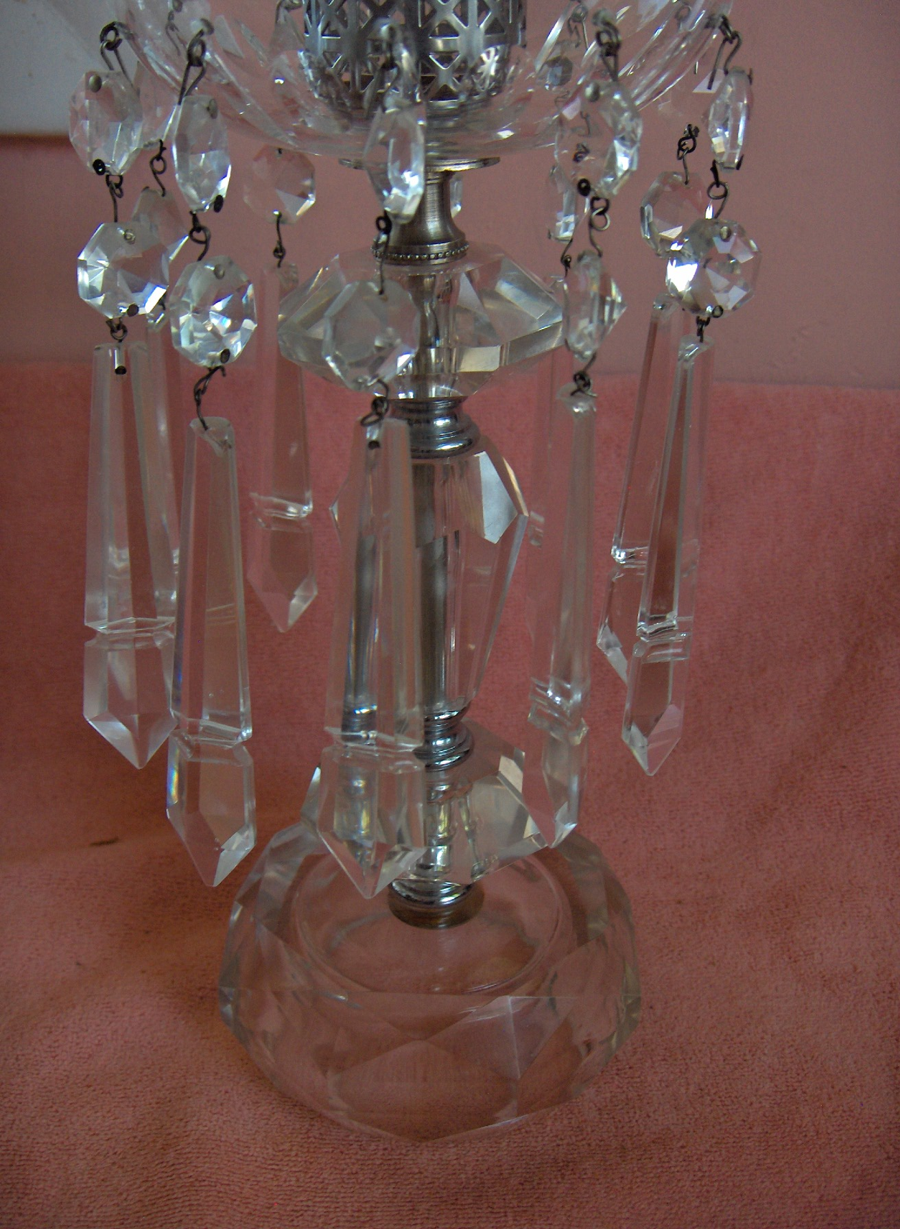 lead crystal lamps photo - 5