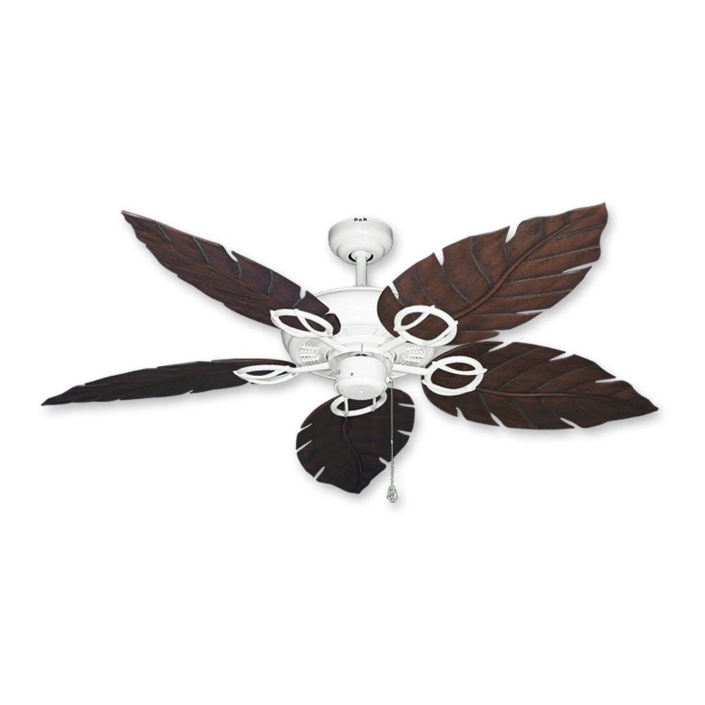 Ceiling fan with leaf blades - Leaf Blade Ceiling Fans Photo 9