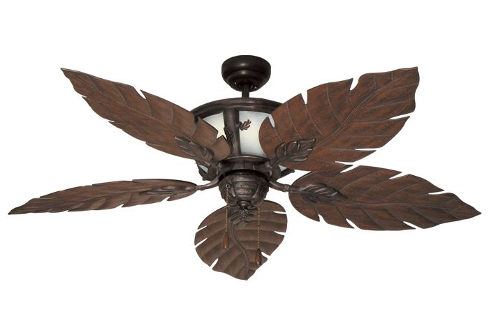 leaf ceiling fan blades photo - 3