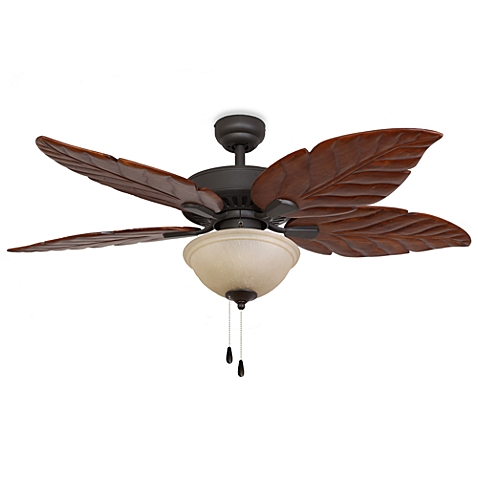 leaf ceiling fan blades photo - 4