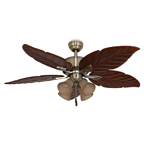 leaf ceiling fan blades photo - 9