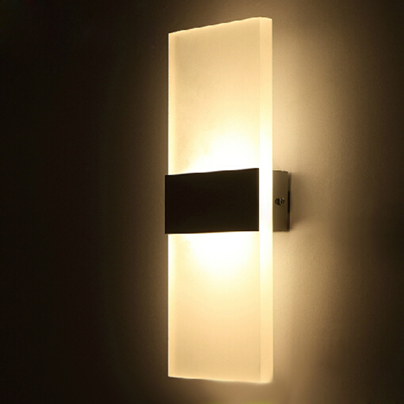 led bedside wall lights photo - 6