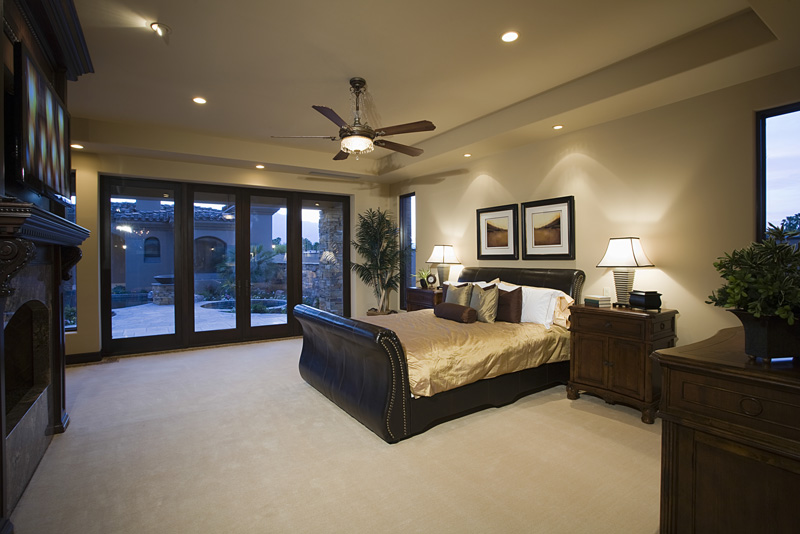 LED Ceiling Fan Lights EnergyEfficient Brightening Massive - Ceiling fan with light for bedroom