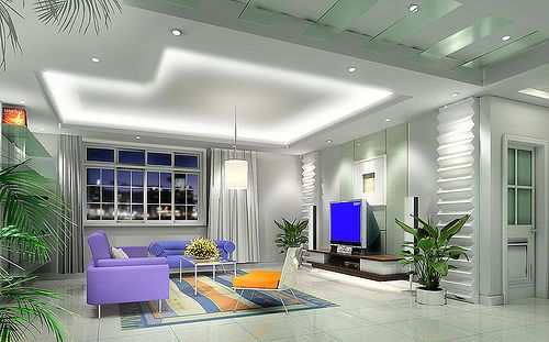 led ceiling lights photo - 1