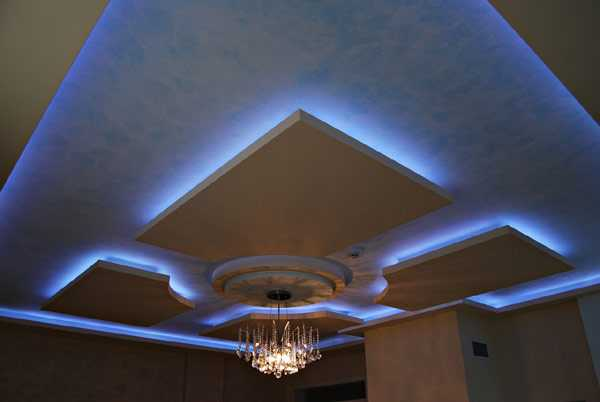 led ceiling lights photo - 3