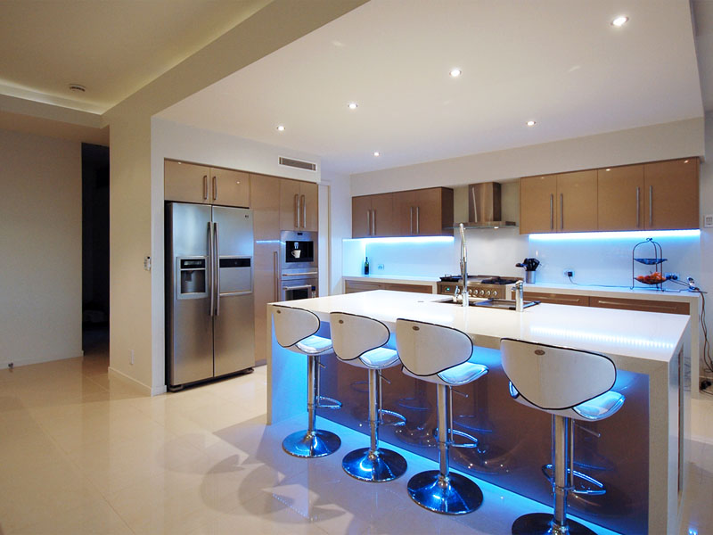 led ceiling lights kitchen photo - 1