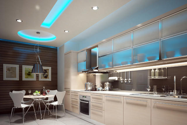 Led Ceiling Lights For Kitchen: led ceiling lights kitchen photo - 7,Lighting