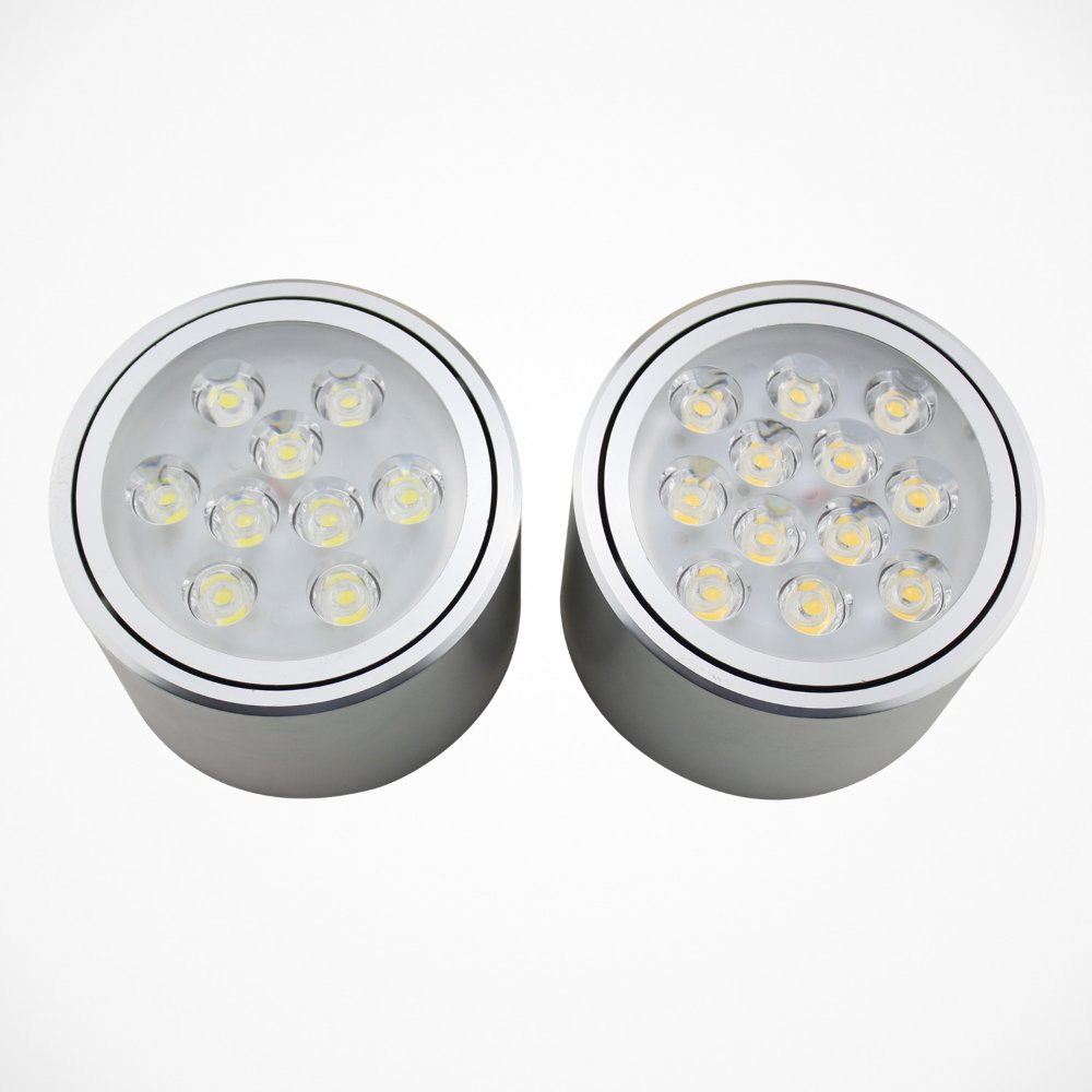 led ceiling lights surface mount photo - 7