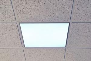 led ceiling panel lights photo - 3