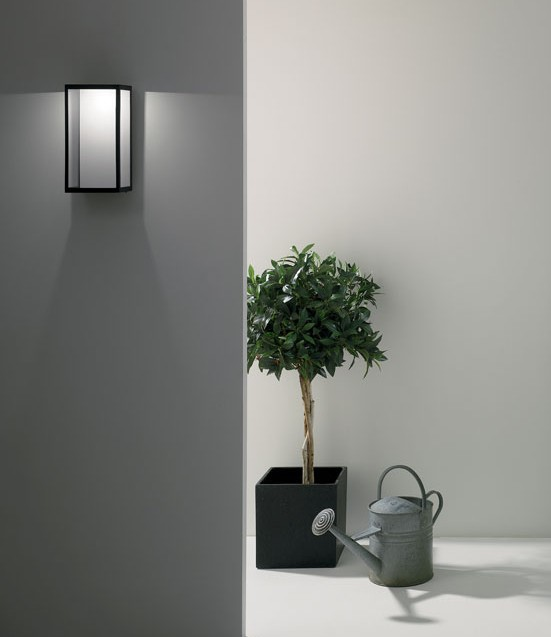 led exterior wall lights photo - 9