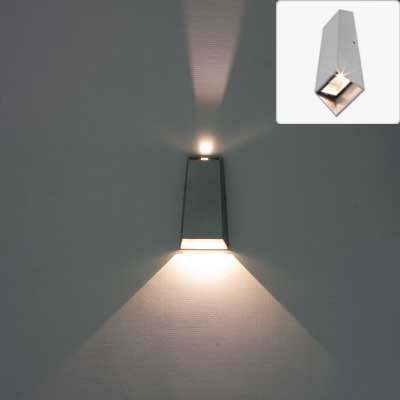 led external wall lights photo - 10