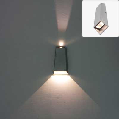 led external wall lights photo - 10
