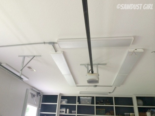 led garage ceiling lights photo - 5