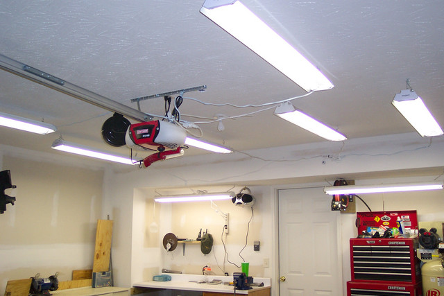 led garage ceiling lights photo - 7