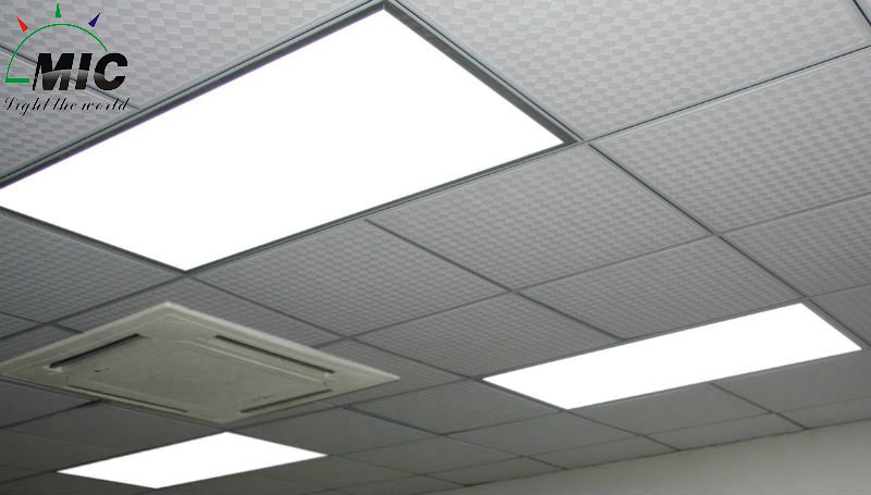 led light panel ceiling photo - 2