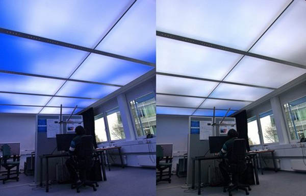 led light panel ceiling photo - 4