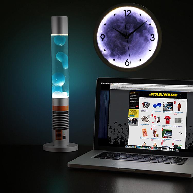 led light wall clock photo - 10