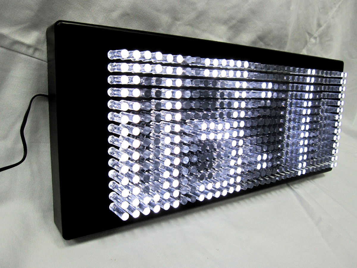 led light wall clock photo - 3