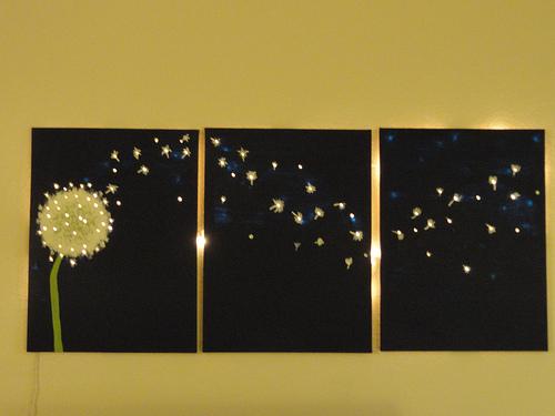 led light wall panels photo - 4