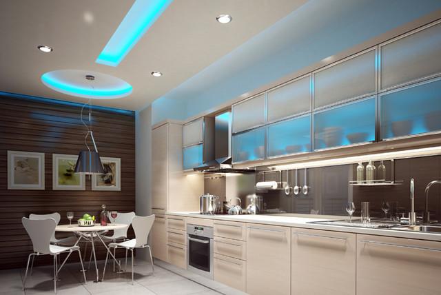 Led Lights In Ceiling: led lights kitchen ceiling photo - 6,Lighting