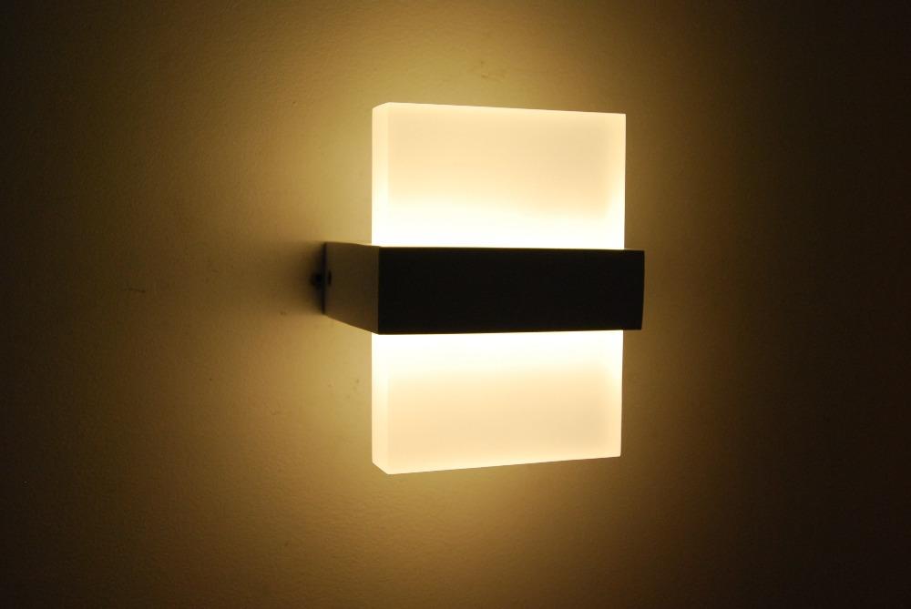 led lights wall photo - 2