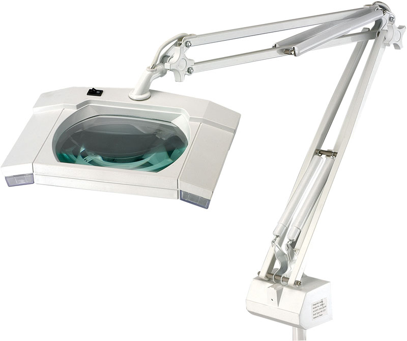 Led Magnifying Lamp 11 Emphasizes On Easy Mobility And