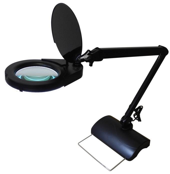 led magnifying lamp photo - 5