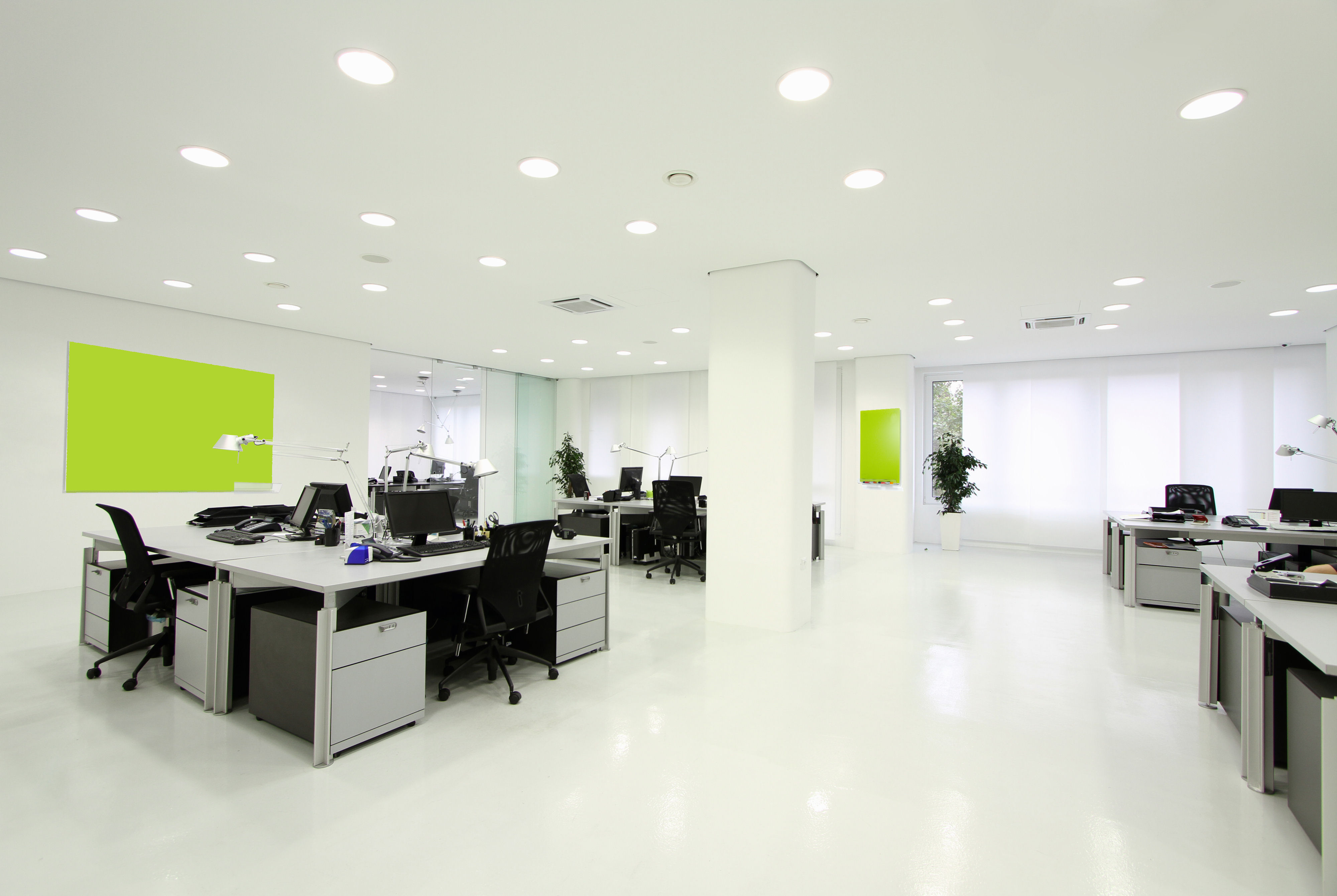 led office ceiling lights photo - 2