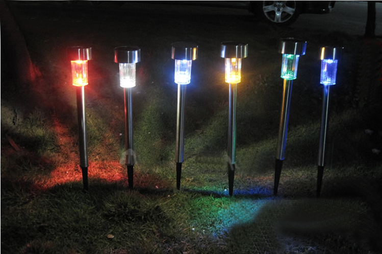 led outdoor solar lights photo - 5