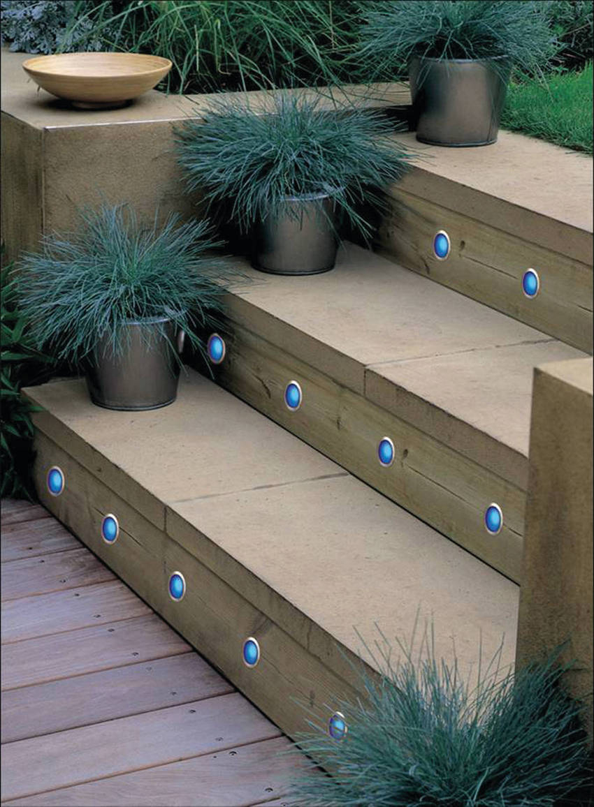 led outdoor step lights photo - 2