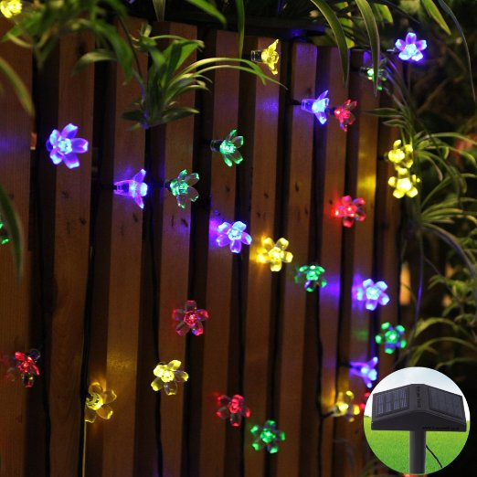 led outdoor string lights photo - 2