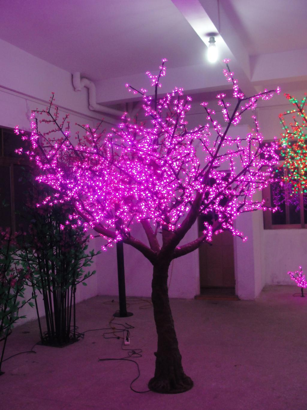led outdoor tree lights photo - 3