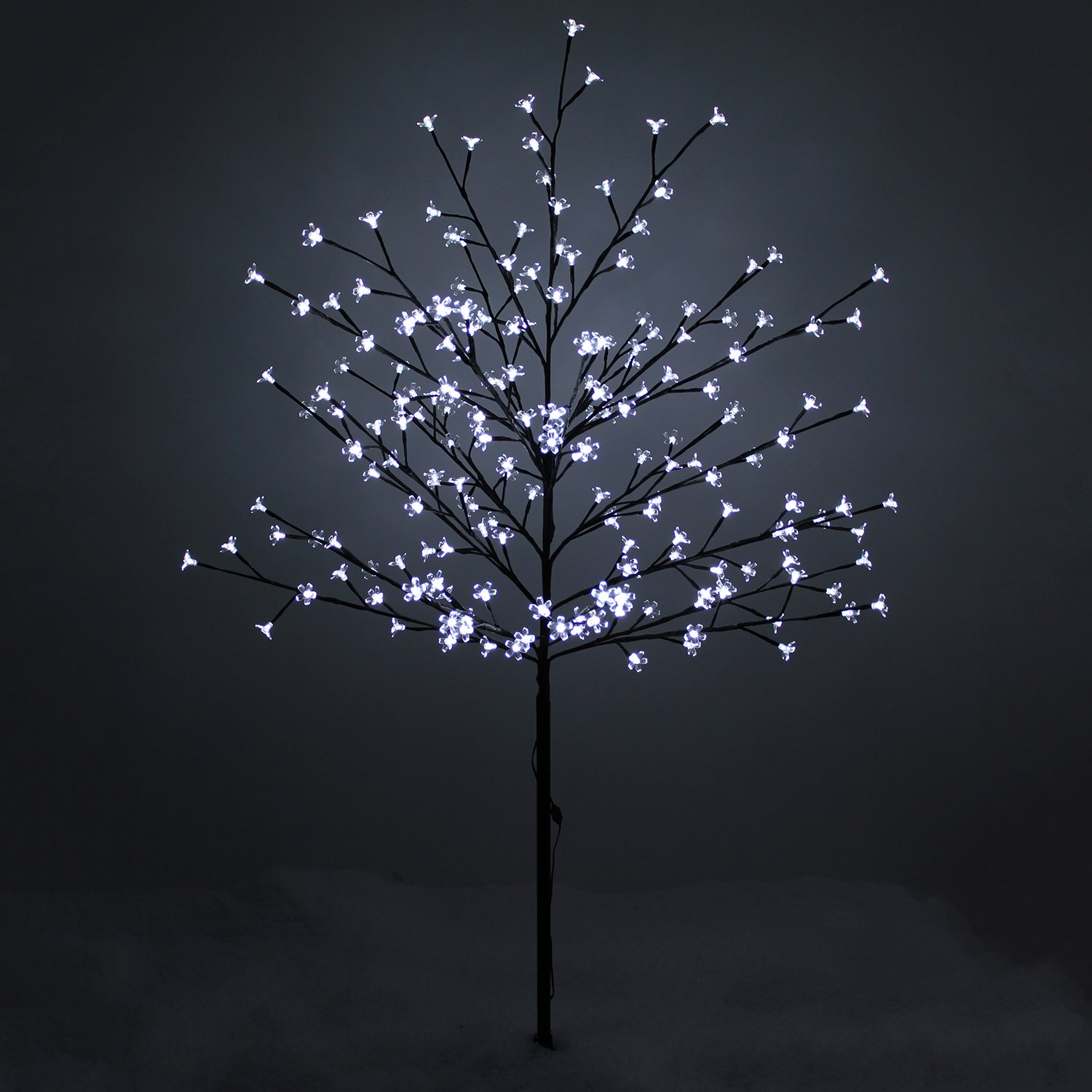 led outdoor tree lights photo - 5