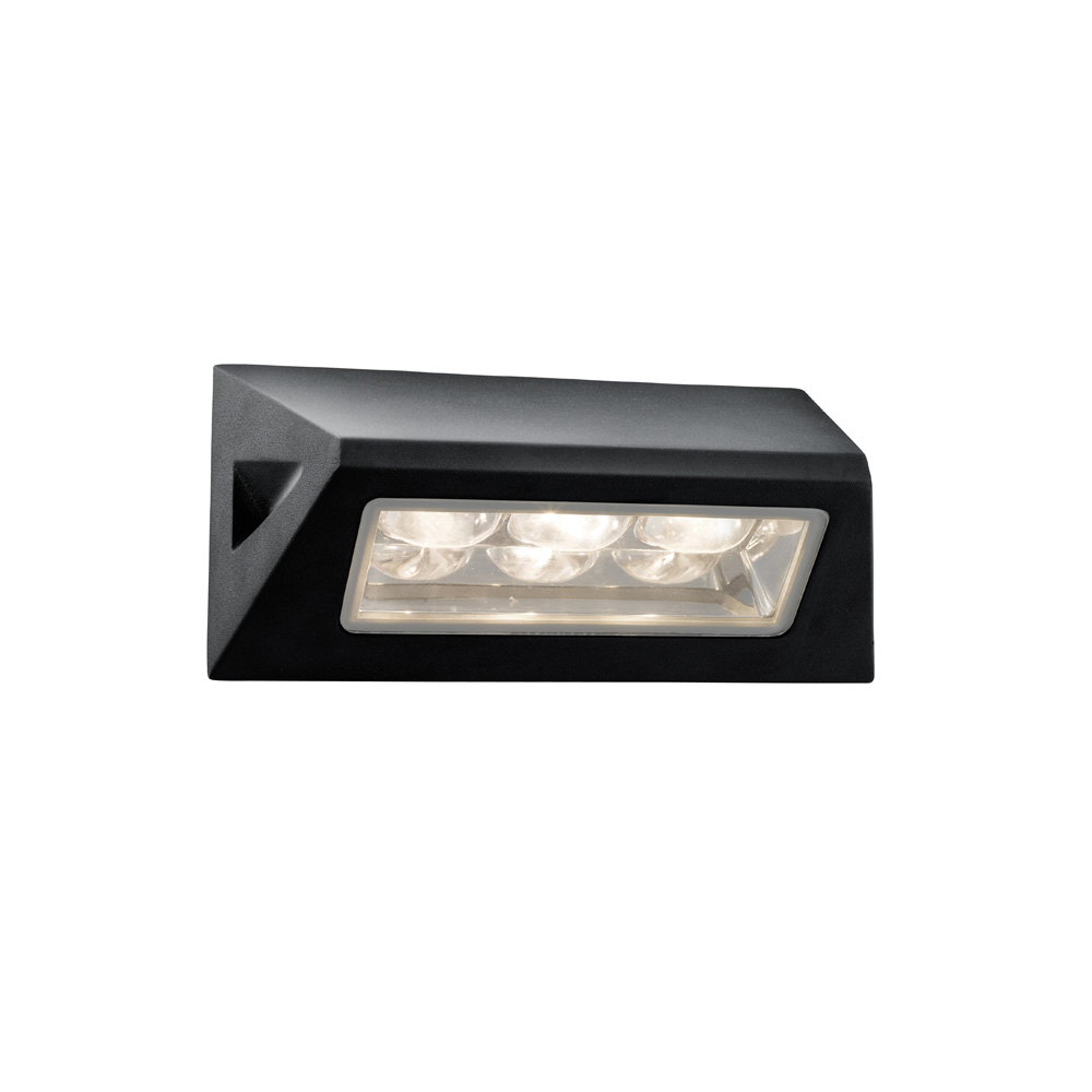 Led outdoor wall lights enhance the architectural for Led yard light fixtures